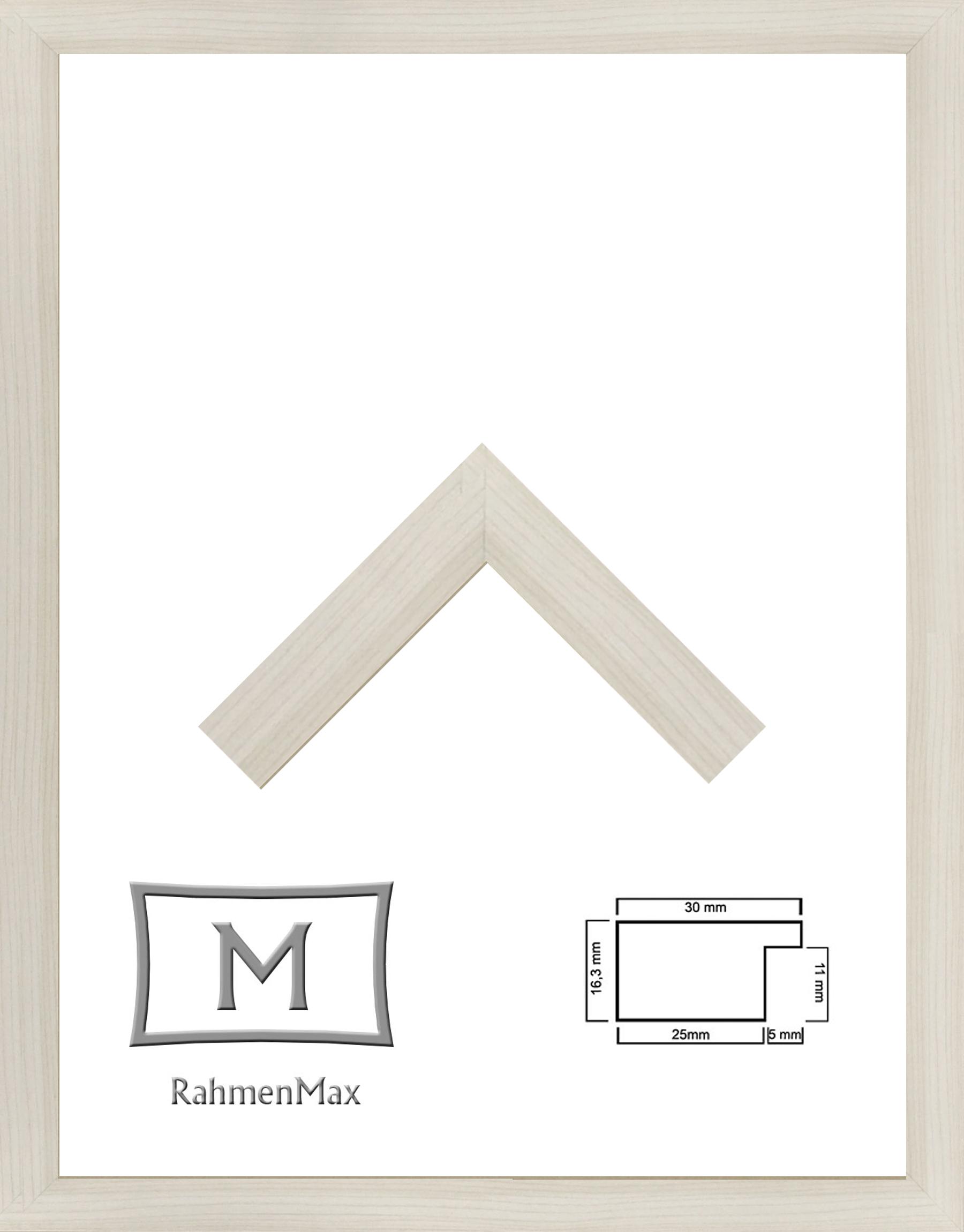 18 x 24 cm Holz Werkstoff Rahmen Morena für Puzzle, Bilder oder ...