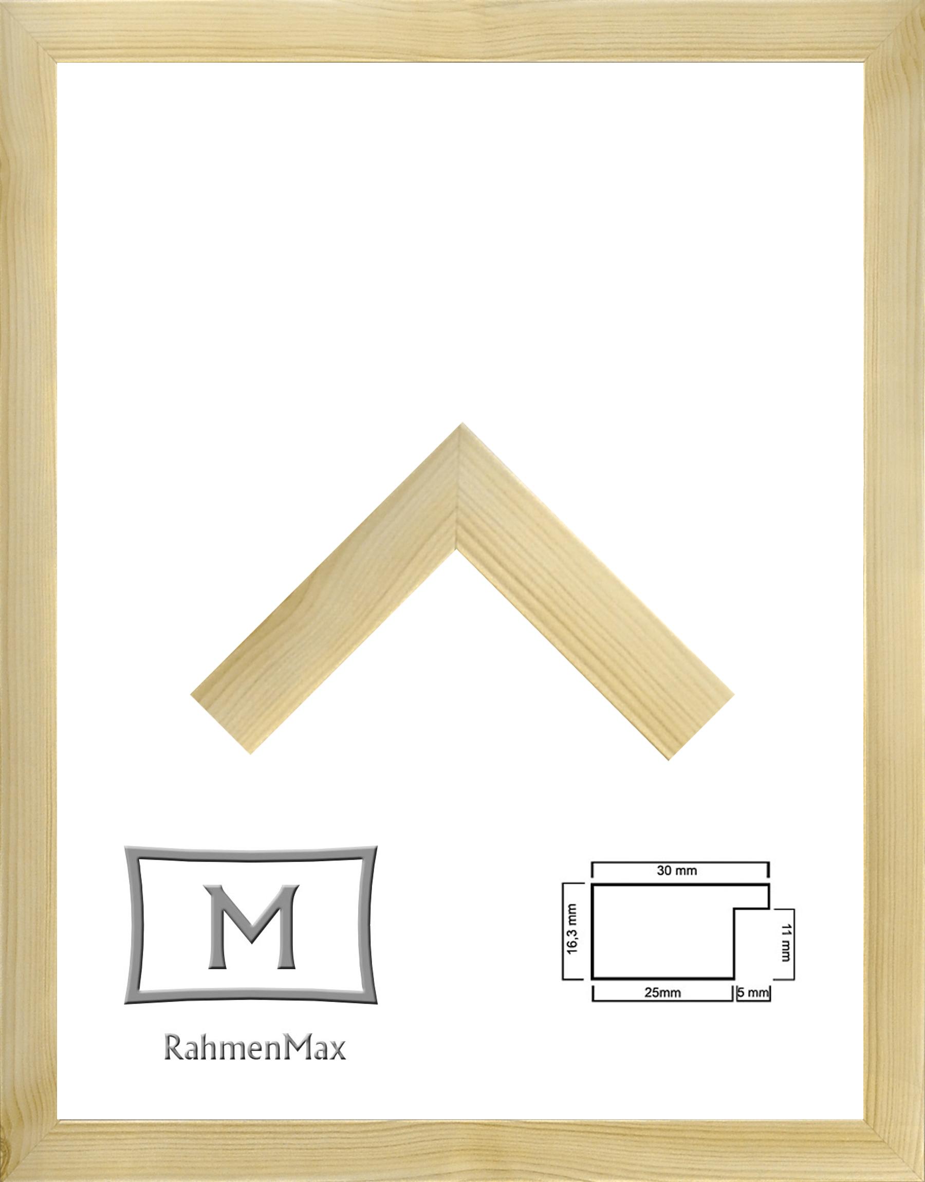59,2 x 84,3 cm Holz Werkstoff Rahmen Morena für Puzzle, Bilder oder ...