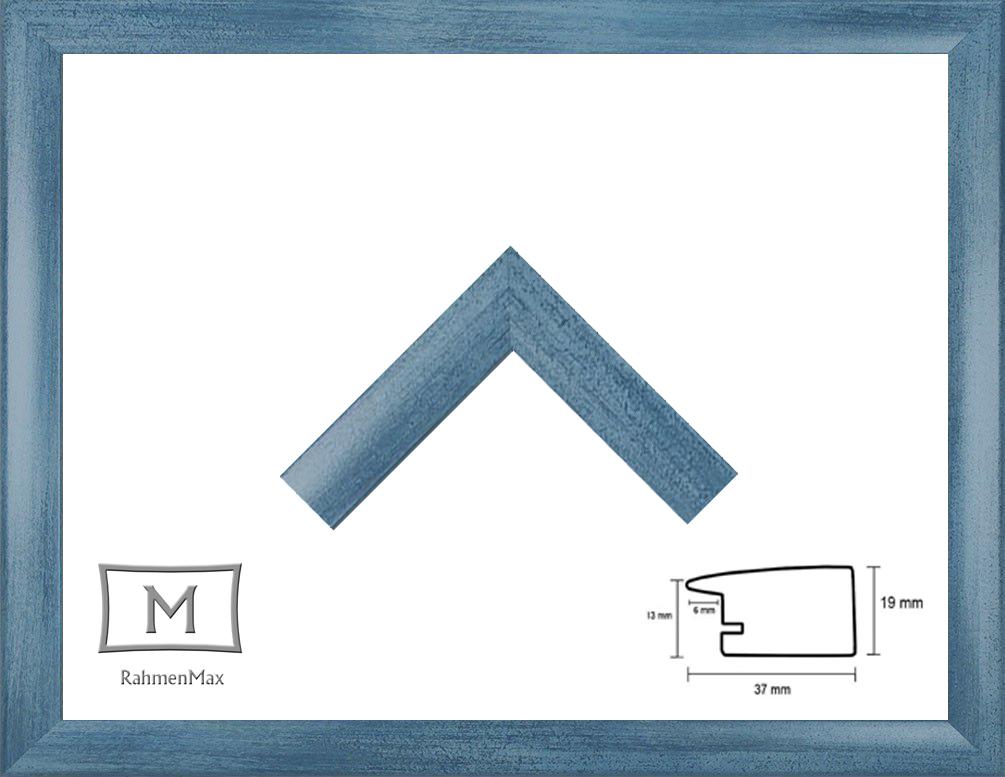 120 x 120 cm Holz Werkstoff Rahmen Toskana für Puzzle, Bilder oder ...