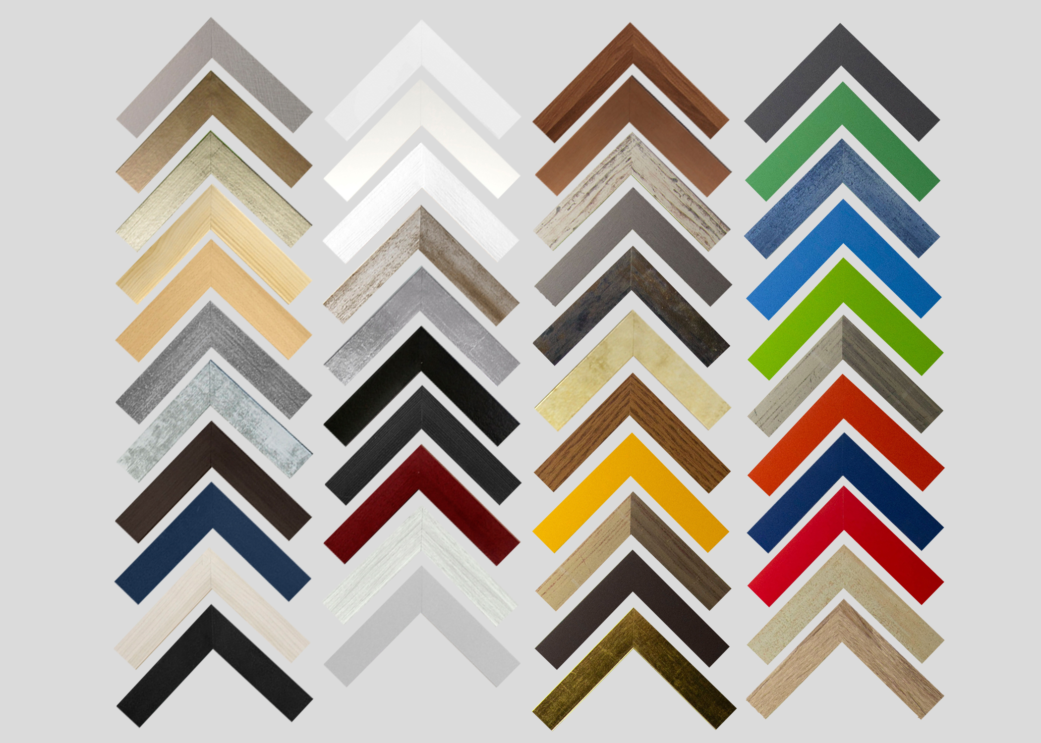 In 43 verschiedenen Farben. MDF-Bilderrahmen MOLISE 42 x 56 cm
